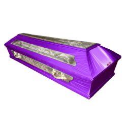 №12 Гроб сиреневый