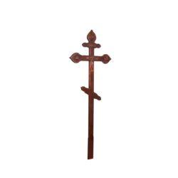 №53 Крест с орнаментом (сосна)