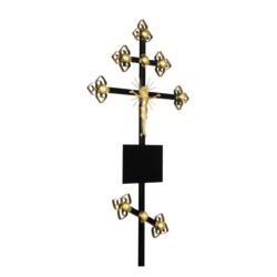 №14 Крест-золото (металл)
