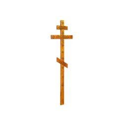 №44 Крест с декором (сосна)