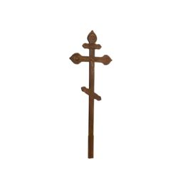 №54 Крест с орнам. состар. (сосна)