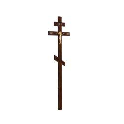 №47 Крест алюм. распятие (сосна)